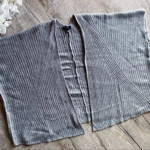 Forever 21 Gray Oversized Sweater Cardigan